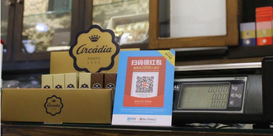 Arcádia adopta sistema de pagamentos Alipay